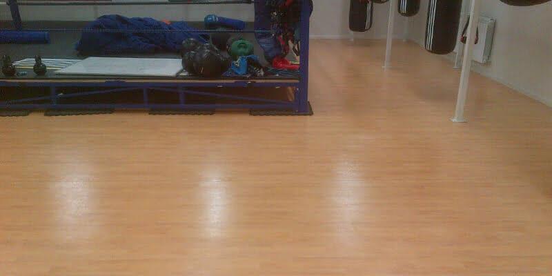 Bray Boxing Club Katie Taylor slip resistant floor P Mac