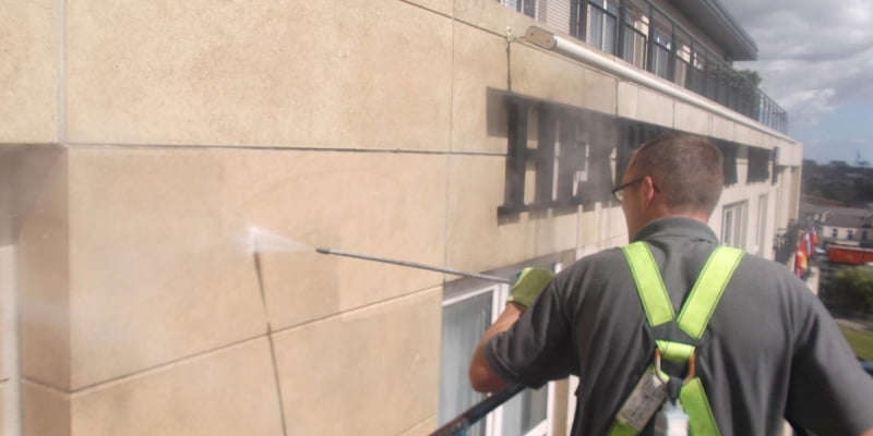 facade cleaning dublin experts p mac