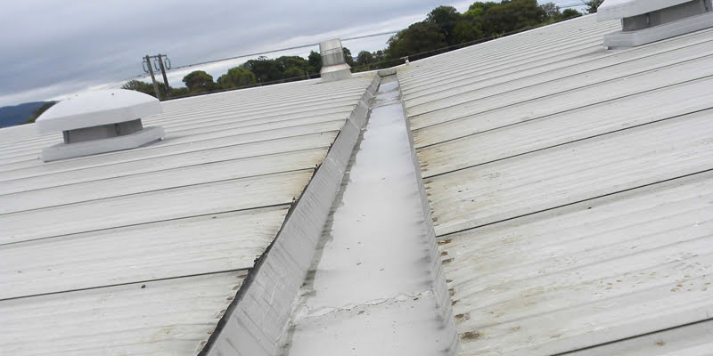 asbestos roof leaking P Mac Dublin