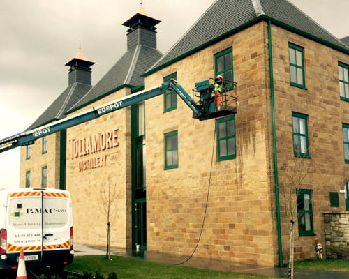 expert stone facade cleaning services Dublin P Mac