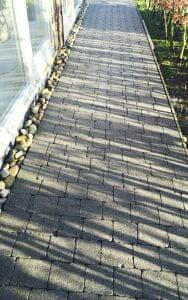 Cobblelock after moss removal P Mac Dublin