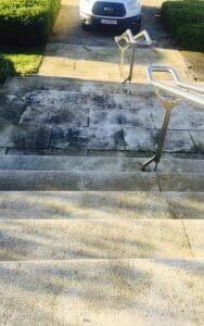 Profile Park dirty granite steps P Mac Dublin
