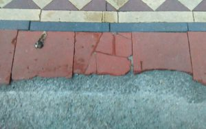 Damaged quarry tiles can be repaired P Mac Dublin