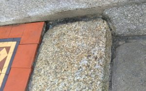 Granite step repair P Mac Dublin