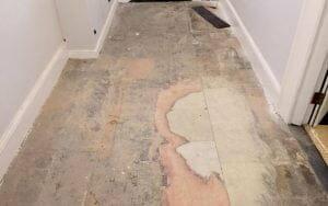 Initial grind reveals stone contamination P Mac Dublin