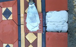 New quarry tiles repairing restoration P Mac Dublin