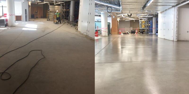 Polished concrete floors – the advantages