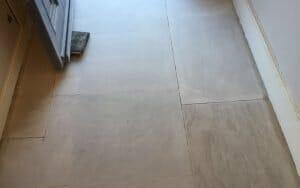 Portland stone floor rehoned repaired P Mac Dublin