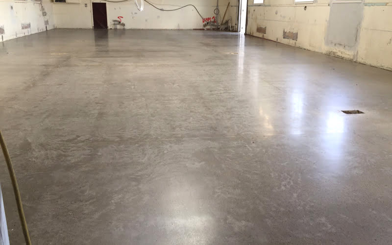 P Mac Dublin Polished concrete floors Richmond Barracks