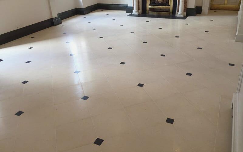 P Mac Dublin marble floor lost lustre