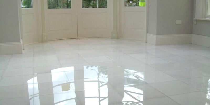 P Mac Dublin Marble floor stripped cleaned powder polished sealed