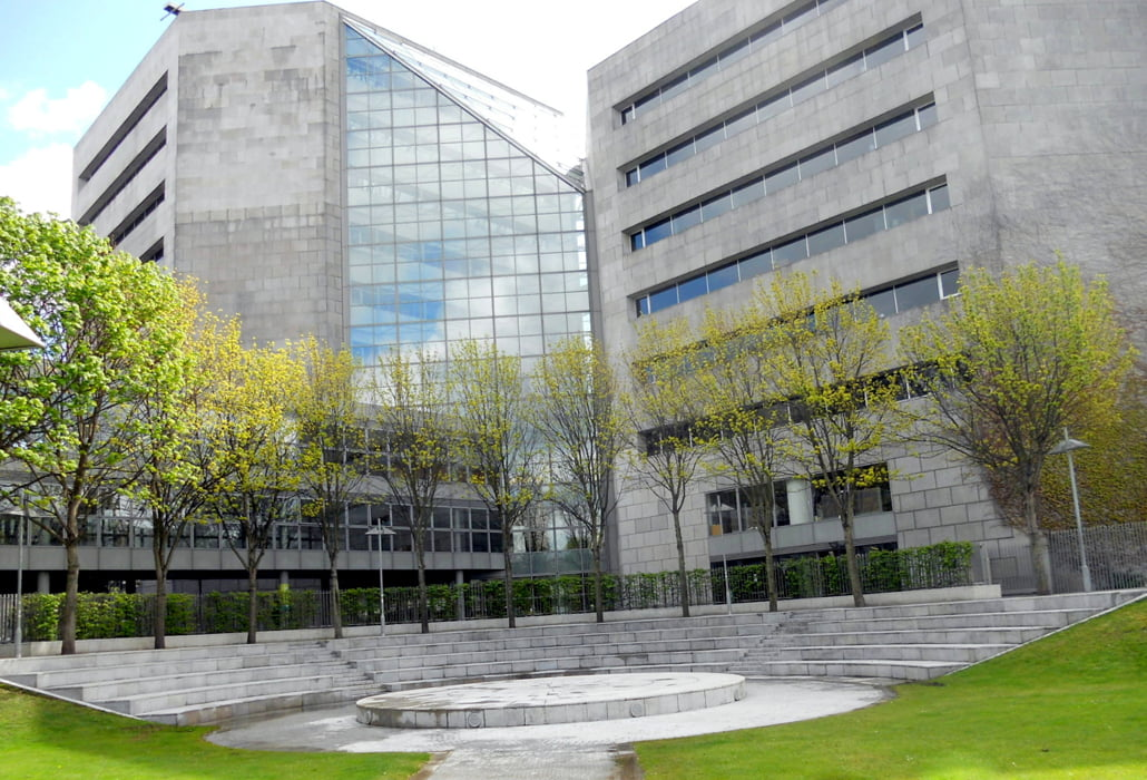 Dublin City Council Civic Offices after steam and power washing