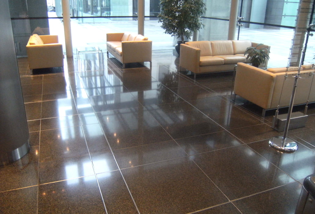 Marble floor, polished and sealed - Harbourmaster