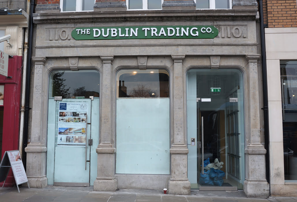 Paint removal and facade restoration - Grafton Street,