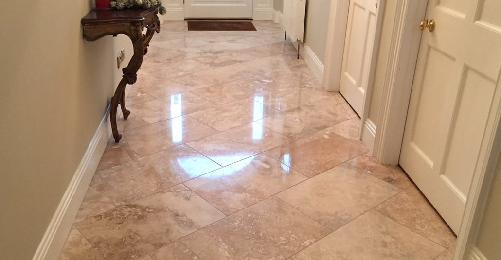 polished marble floor hallway Dublin P Mac