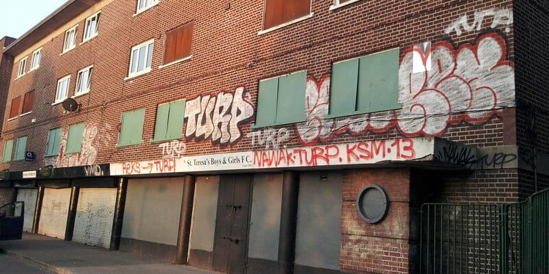 Dublin's leading graffiti removal service