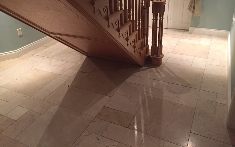 How long will my newly polished marble floors last? | P Mac
