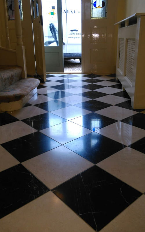 Seal Tile Floor >> How long will my newly polished marble floors last? | P Mac