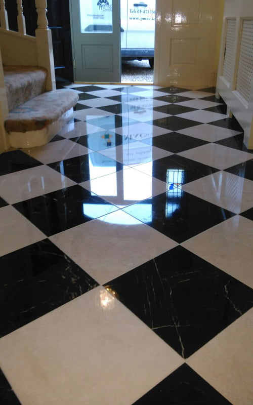 How Long Will My Newly Polished Marble Floors Last P Mac - Marble floor shiner