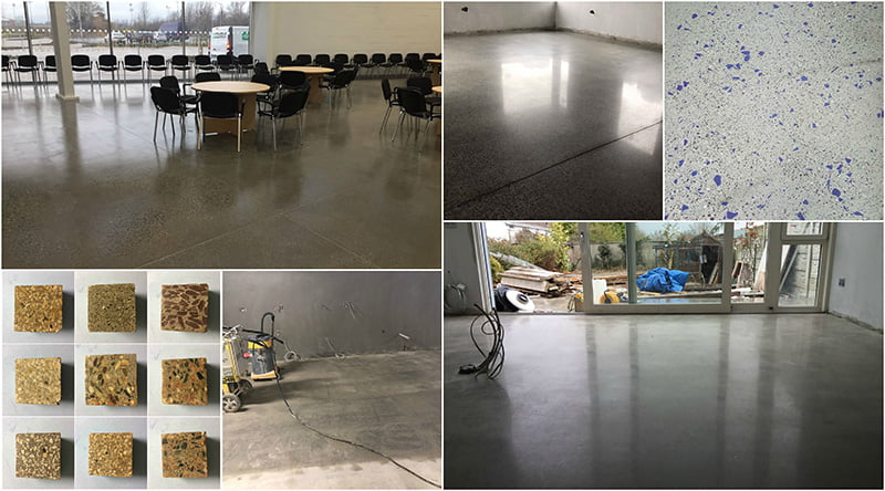 CPD concrete polishing course - P Mac - Dublin