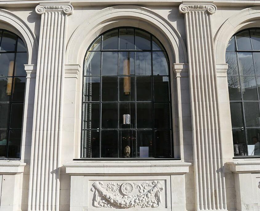 Gresham Hotel facade cleaning details P Mac