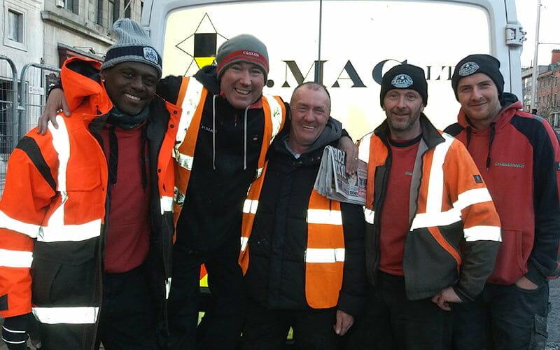 P Mac Gresham crew