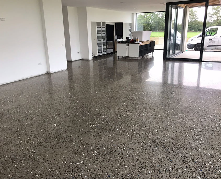 Polished concrete floor by P Mac