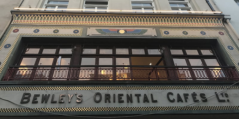 P Mac restores a piece of Dublin history with Bewley's Café