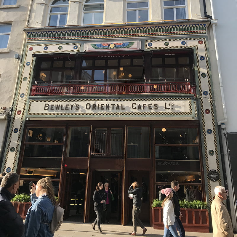 Bewley's facade restored